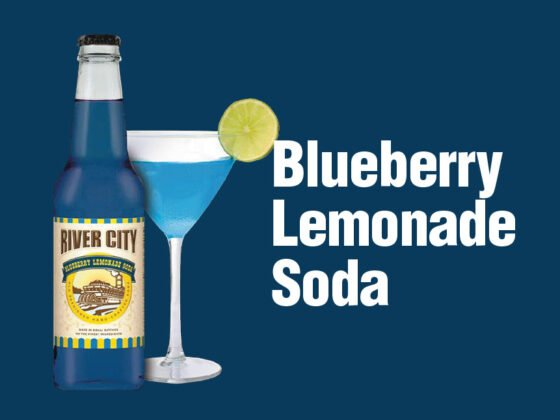 Blueberry Lemonade Soda