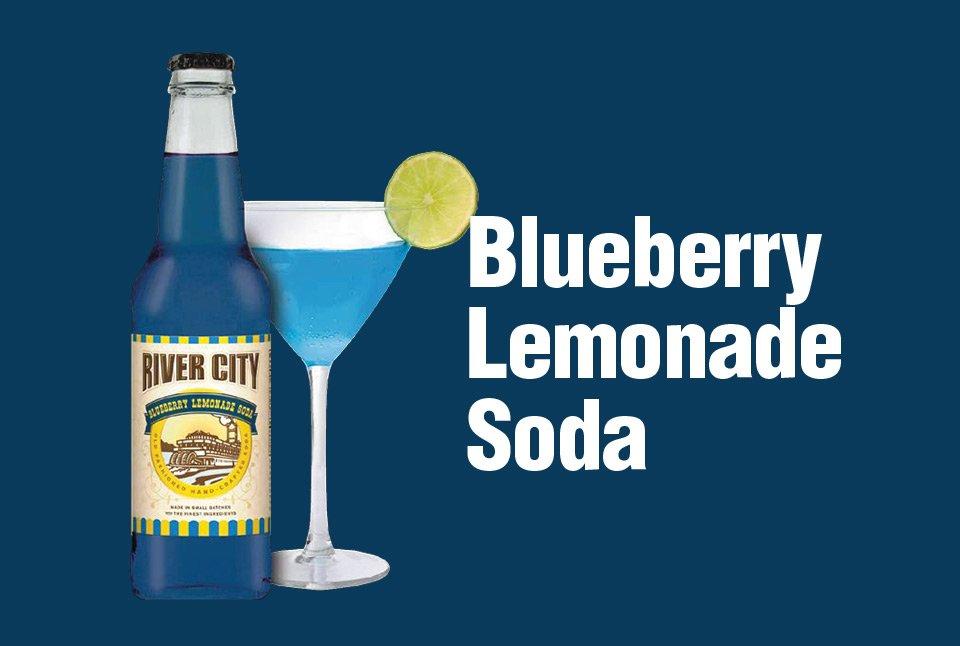 Blueberry Lemonade Soda
